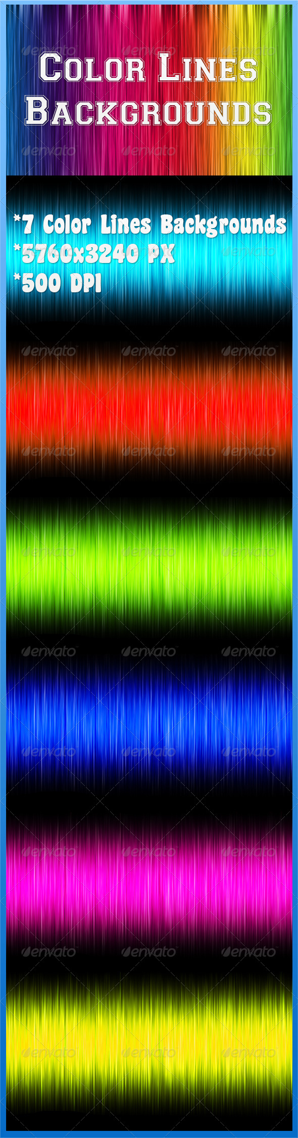 Color Lines Backgrounds - Backgrounds Graphics