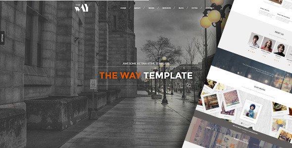 The Way – Responsive Retina Ready Template