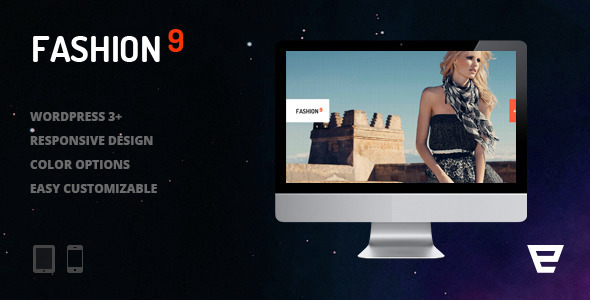 Fashion9 – Responsive Photography WordPress Theme