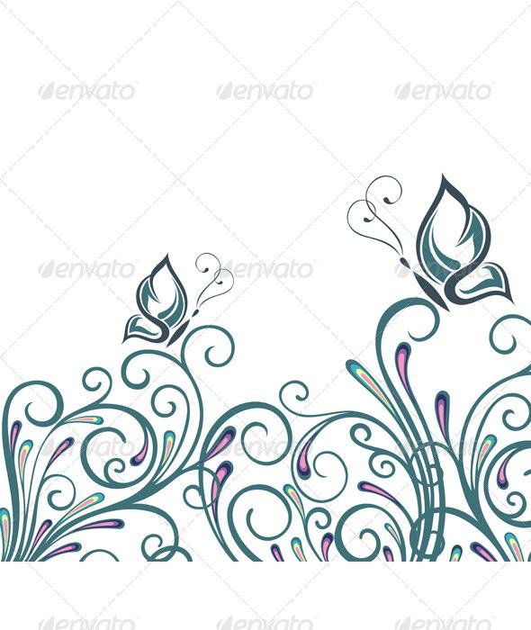 Summer Card - Backgrounds Decorative