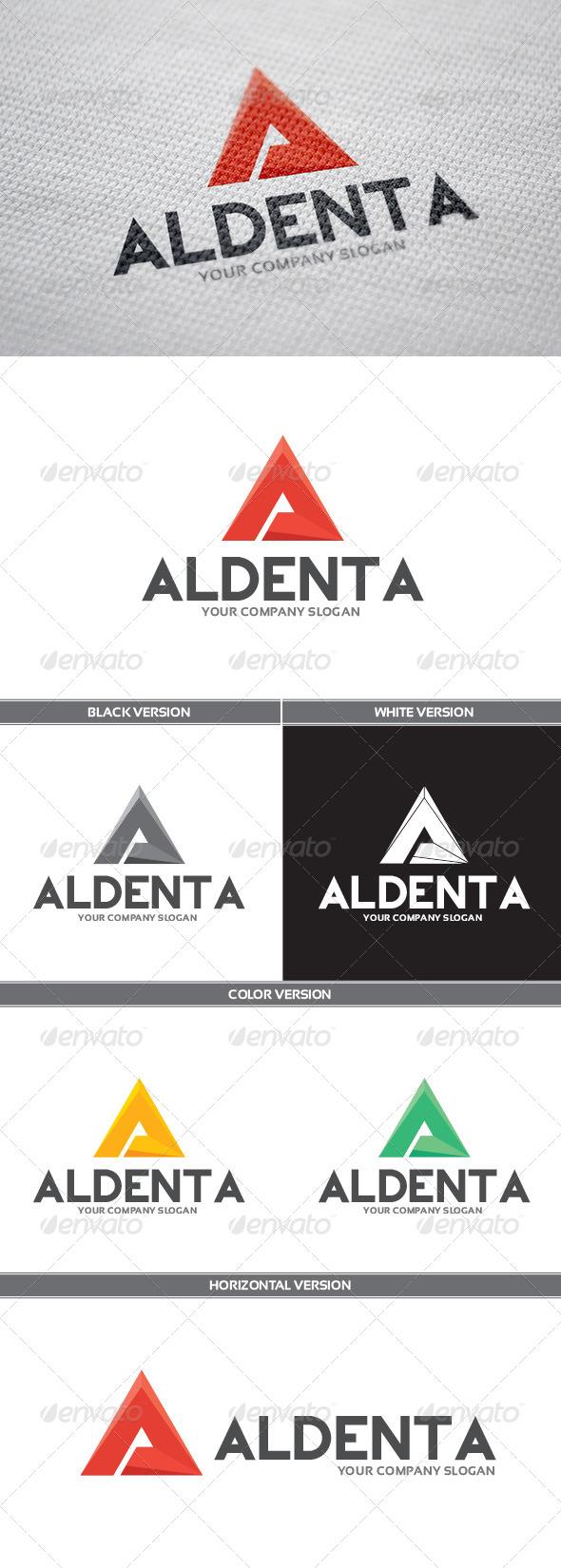 Aldenta Logo - Letters Logo Templates