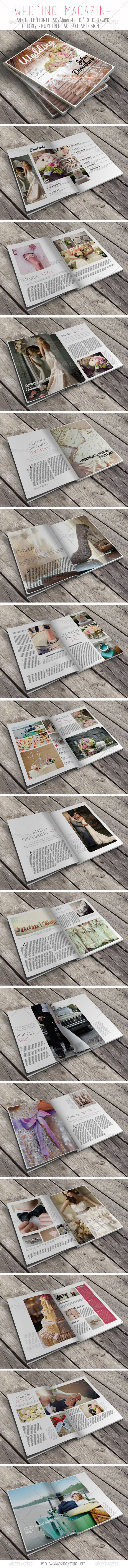 Wedding Magazine - Magazines Print Templates