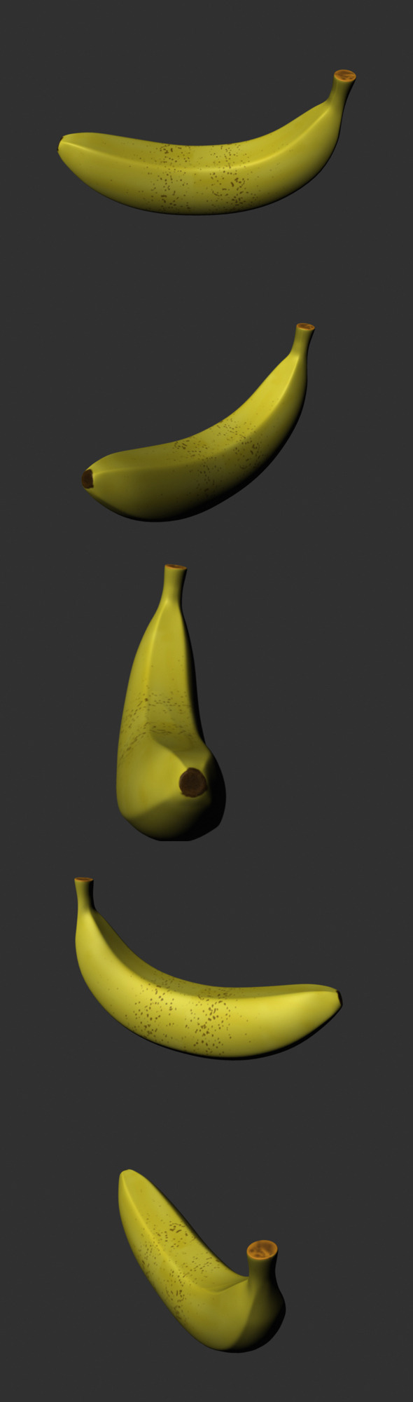 Banana Model - 3DOcean Item for Sale