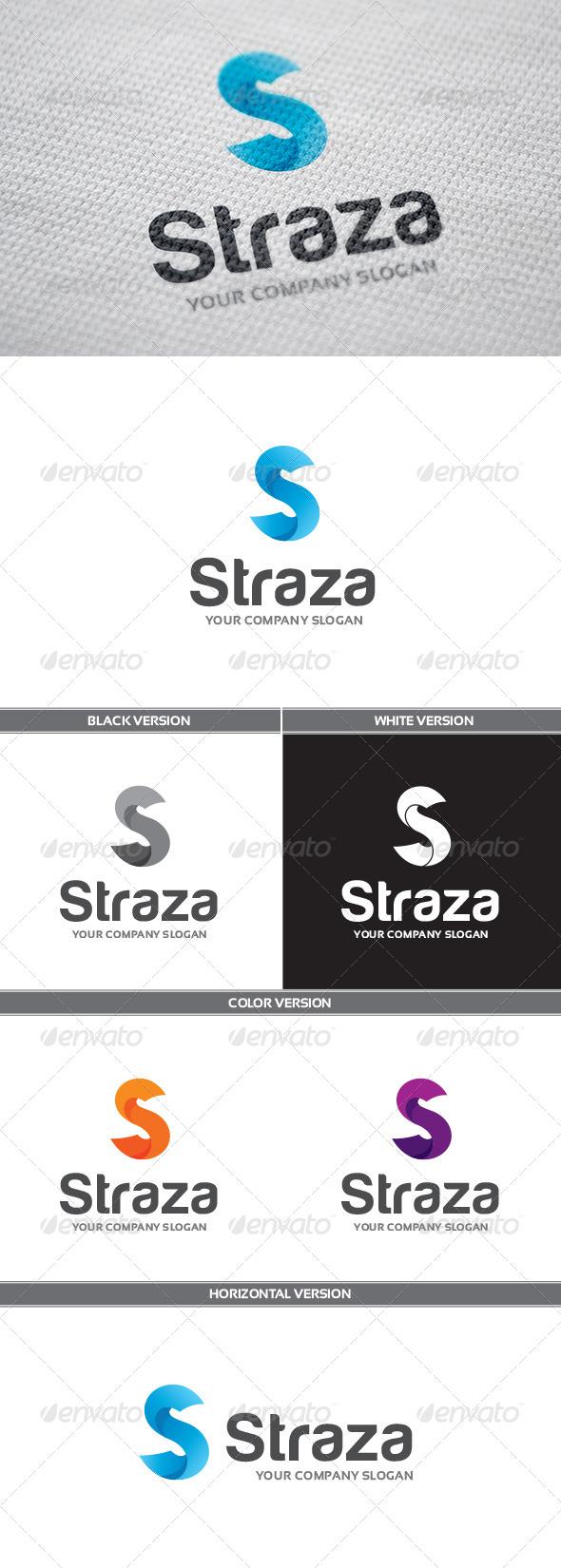 Straza Logo - Letters Logo Templates