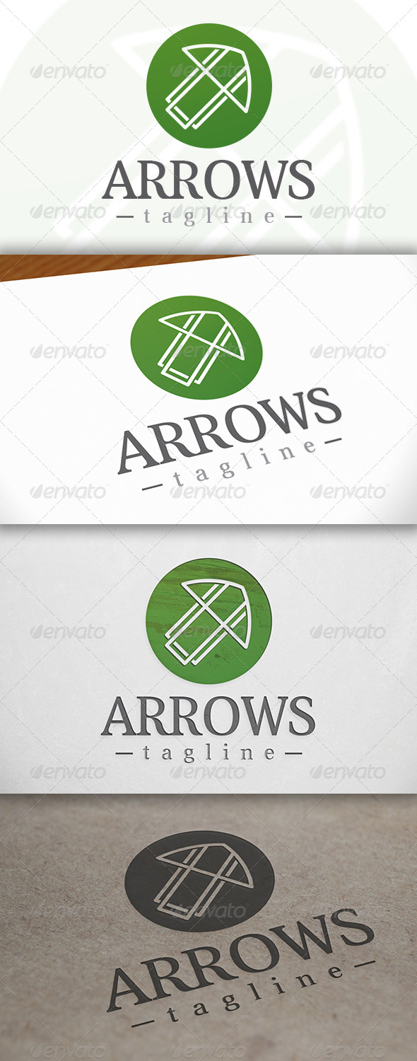 Arrow Logo - Vector Abstract