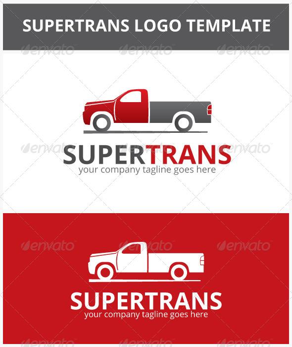 Supertrans Logo - Objects Logo Templates