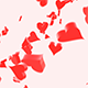 Falling Hearts - VideoHive Item for Sale