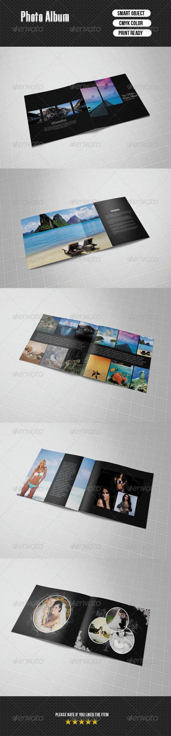 Photo Album - Photo Albums Print Templates