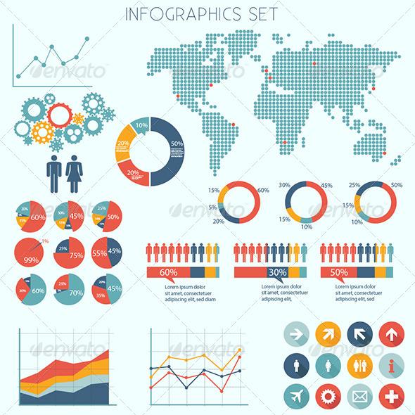 Infographics Set - Infographics