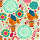 Decorative floral background - GraphicRiver Item for Sale