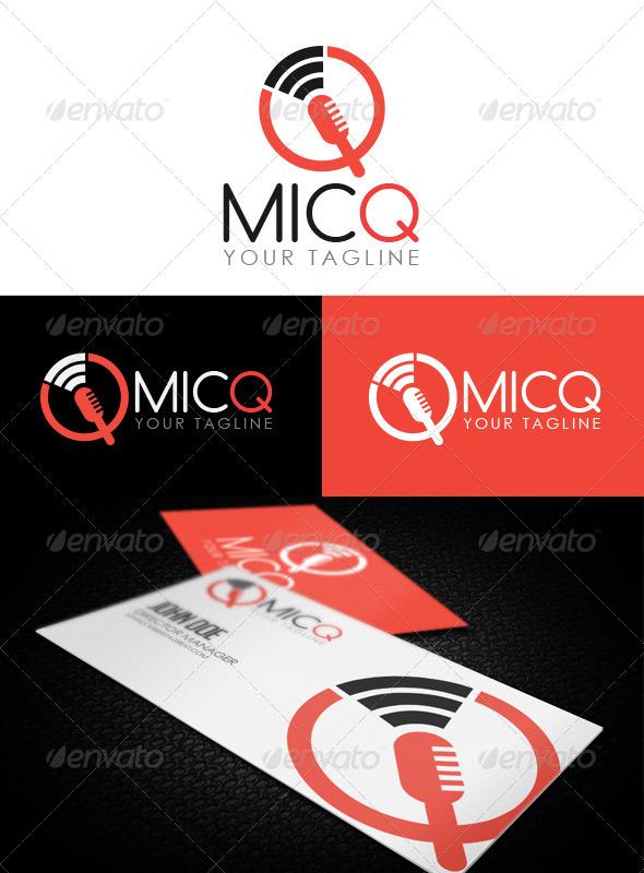 MicQ Logo - Logo Templates