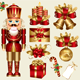 Vector set: traditional christmas elements - GraphicRiver Item for Sale