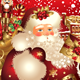 Christmas illustration with Santa Claus in snowglo - GraphicRiver Item for Sale