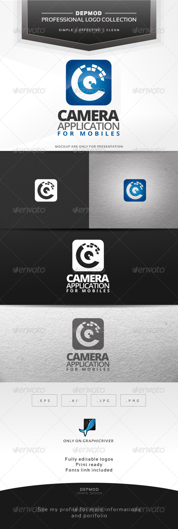 Camera Application Logo - Symbols Logo Templates