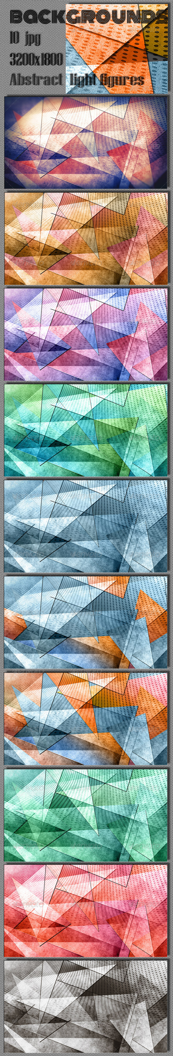Abstract Geometric Background - Abstract Backgrounds