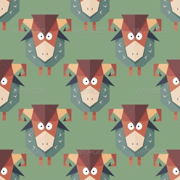 Pattern of Sheep - Patterns Decorative