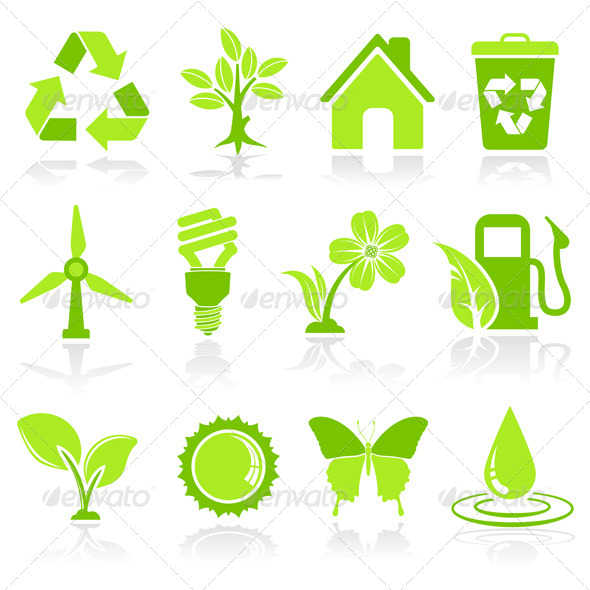Environment Icons - Web Elements Vectors
