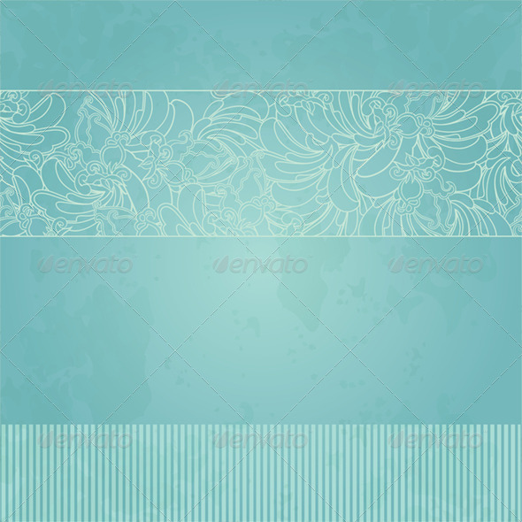 Background With Floral Element - Patterns Decorative