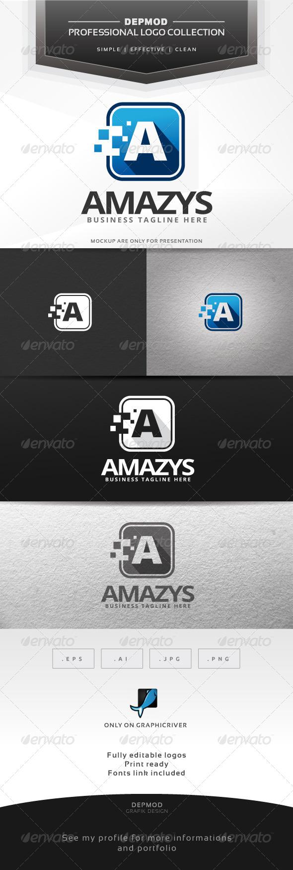 Amazys Logo - Letters Logo Templates