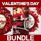 Valentine's Day Bundle Flyers - GraphicRiver Item for Sale