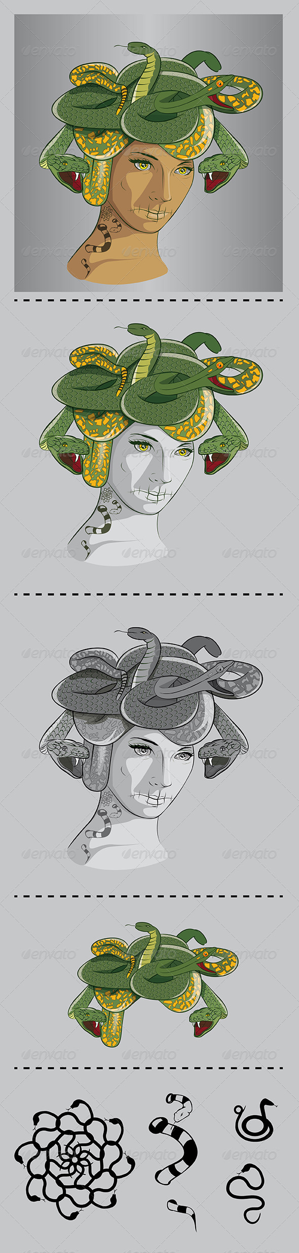 Medusa - Miscellaneous Characters