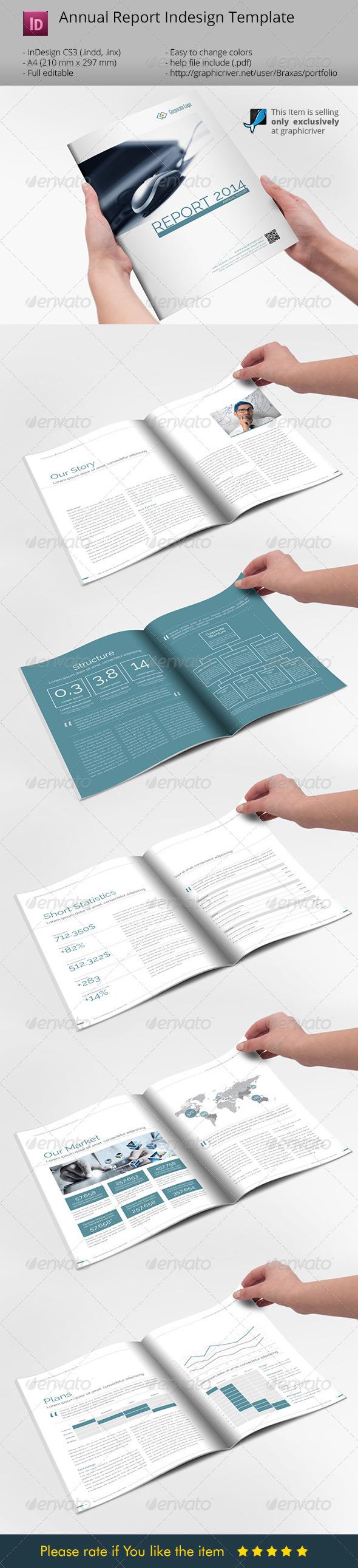 Minimalistic Sharp Annual Report  Brochure - Informational Brochures