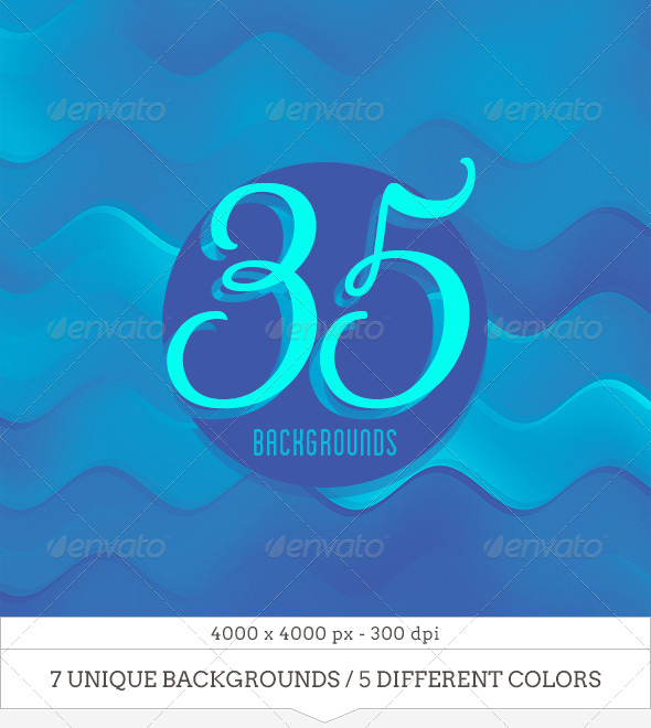 35 Colorful Wavy Backgrounds - Backgrounds Graphics