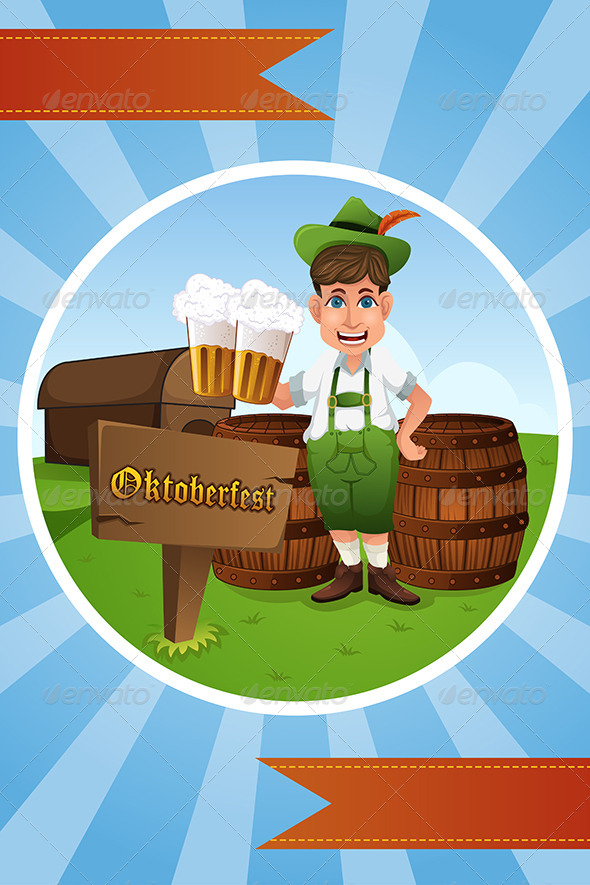 Oktoberfest Banner - Backgrounds Decorative