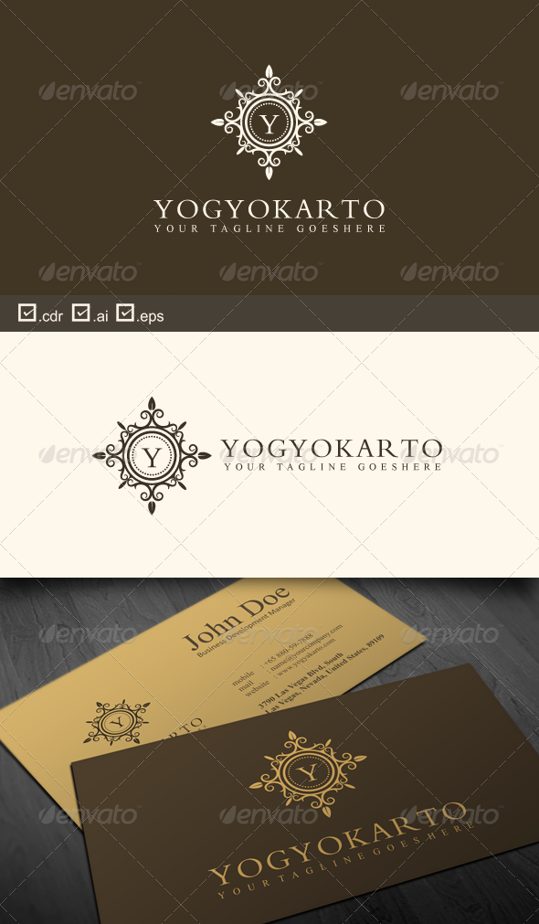 Yogyakarto - Crests Logo Templates