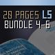 Brochure Landscape Bundle 20 Pages Series 4-6 - GraphicRiver Item for Sale