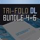 Brochure Bundle Tri-Fold DIN long Series 4-6 - GraphicRiver Item for Sale