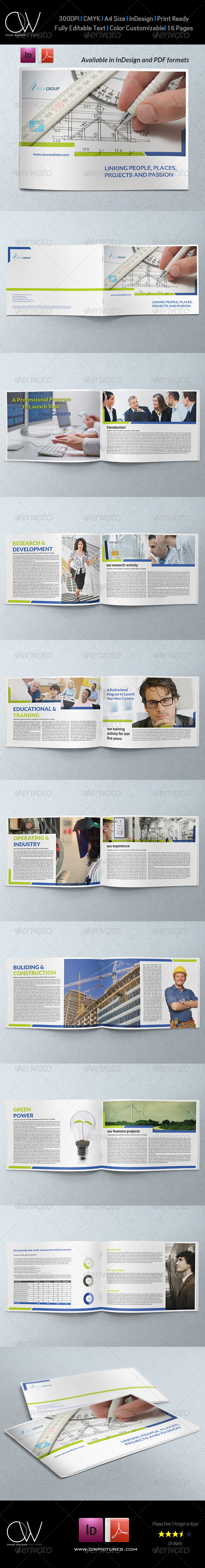 Corporate Brochure Template Vol.25 - 16 Pages - Corporate Brochures