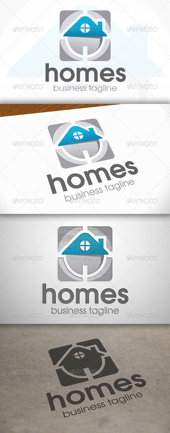 Home Direct Logo - Buildings Logo Templates