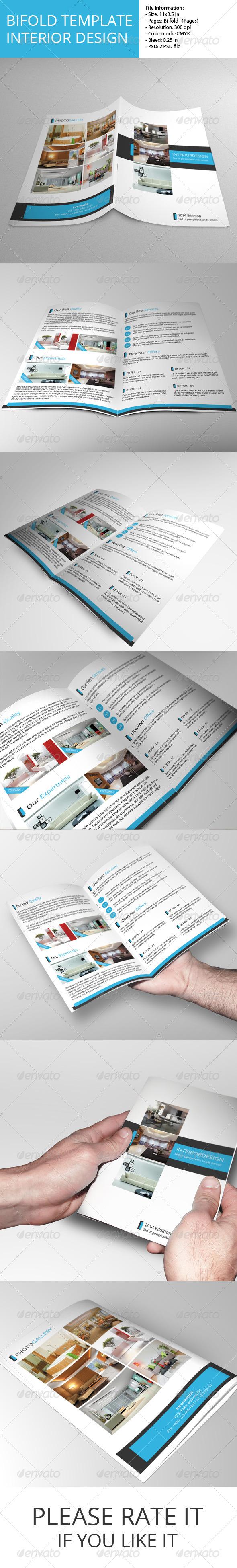 Bifold Brochure-Interior Design - Corporate Brochures