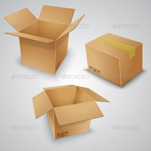 Cardboard Boxes - Retail Commercial / Shopping