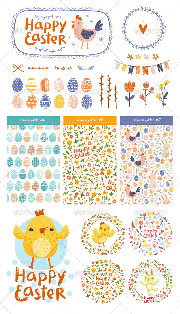 Easter Set - Seasons/Holidays Conceptual