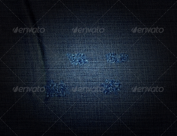 Torn denim - Fabric Textures