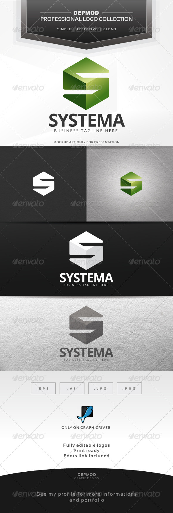 Systema Logo - Letters Logo Templates