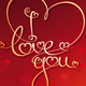 I Love You Card - GraphicRiver Item for Sale