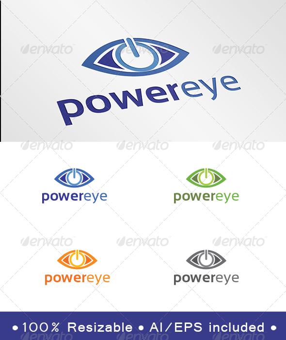Power Eye Logo - Symbols Logo Templates
