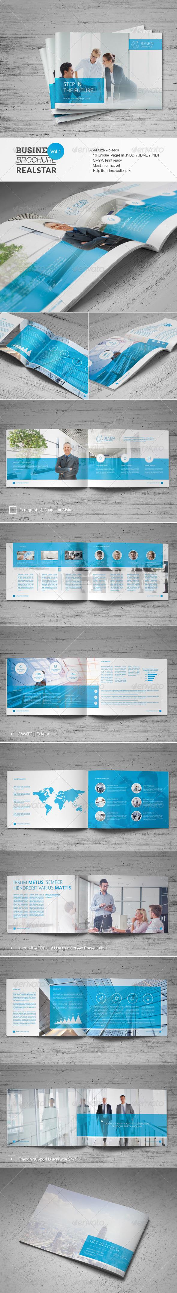 Business Brochure Vol.1 - Corporate Brochures