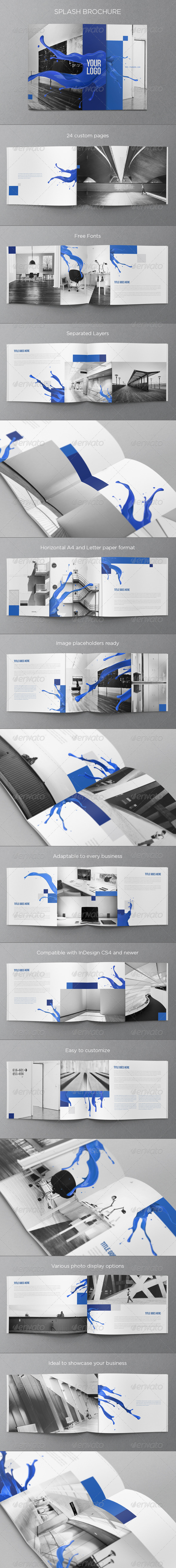 Splash Brochure - Brochures Print Templates