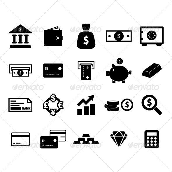 Money Icon - Business Conceptual