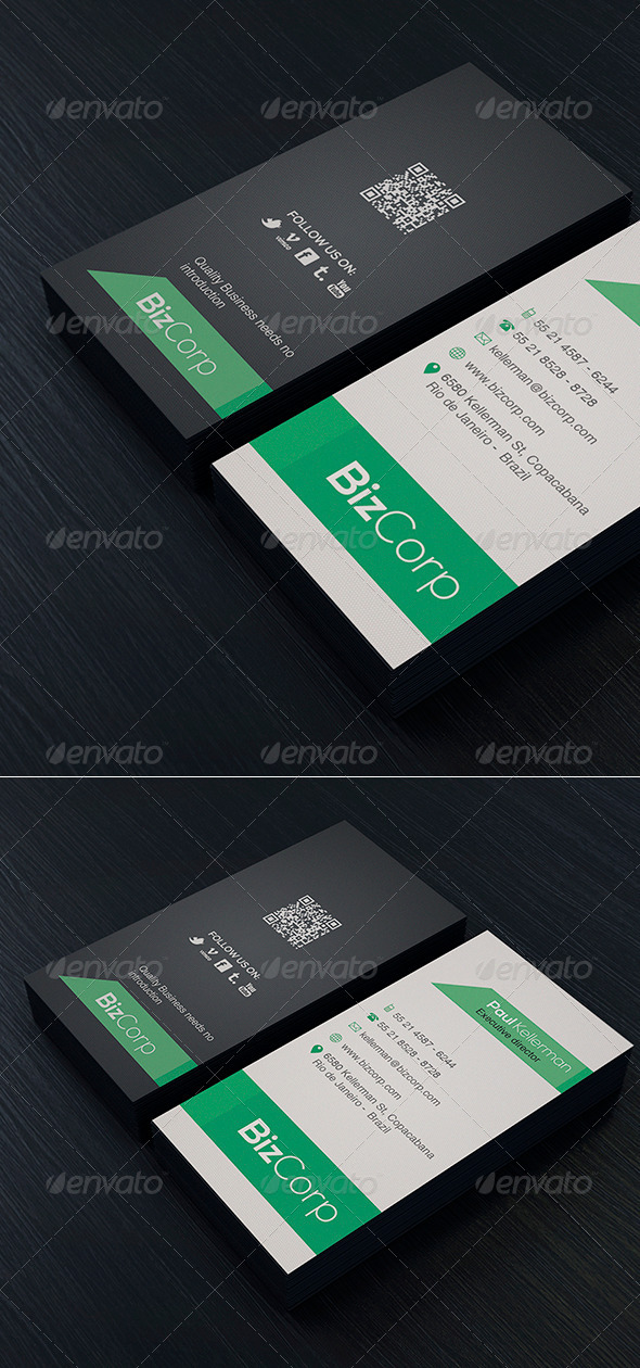 Minimal Business Card Vol. 02 - Corporate Business Cards