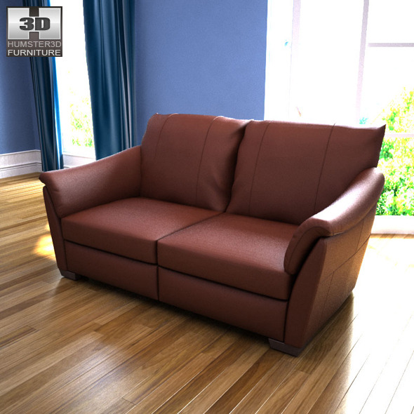 IKEA ALVROS Two-seat sofa - 3D Model.