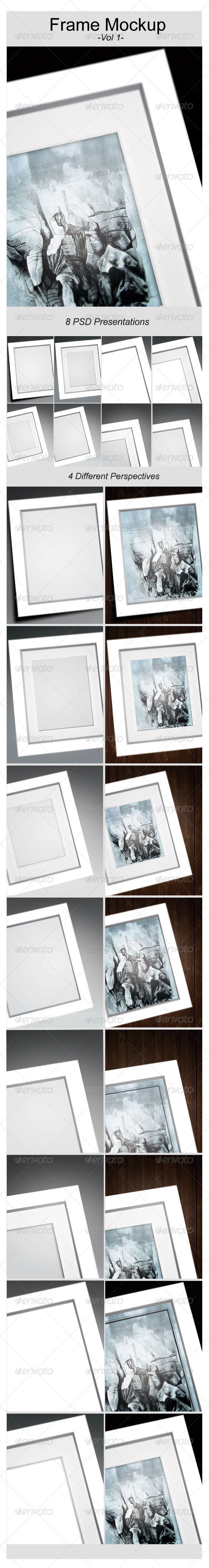 Artwork Frame Mock-Up - Miscellaneous Print