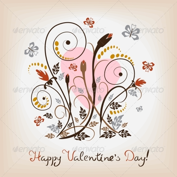 Floral Pattern - Valentines Seasons/Holidays