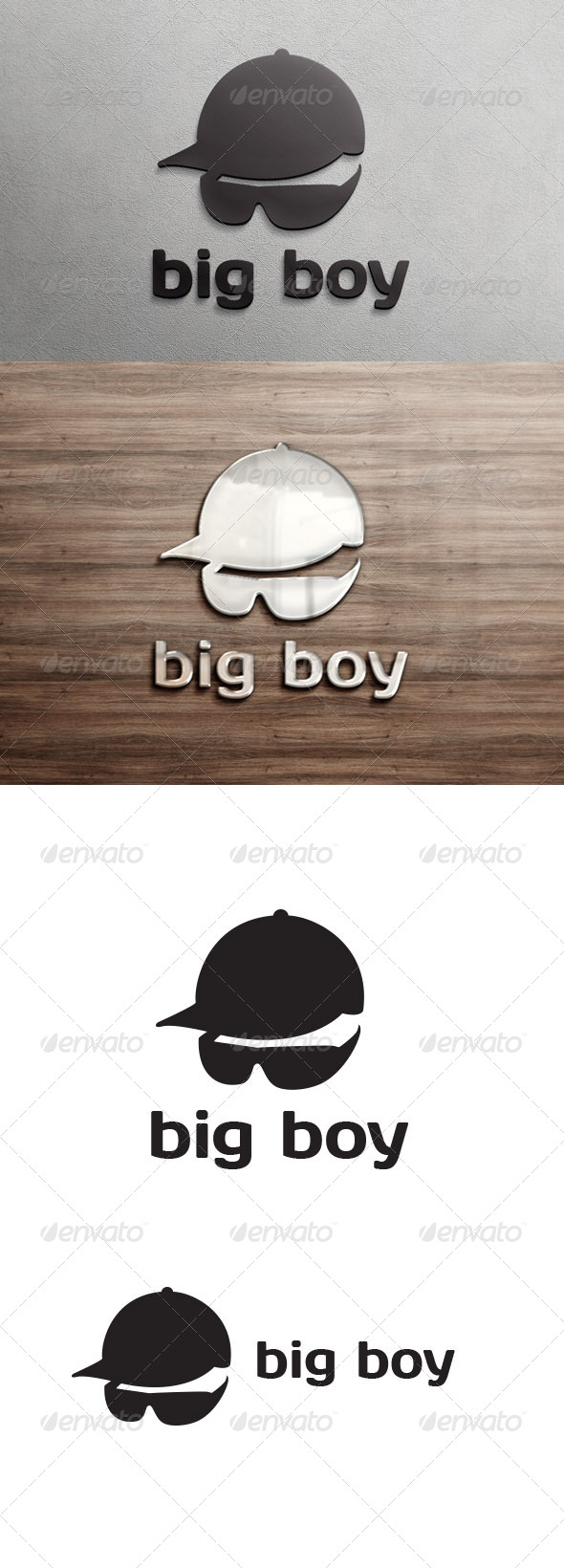 Big Boy Logo Template - Humans Logo Templates