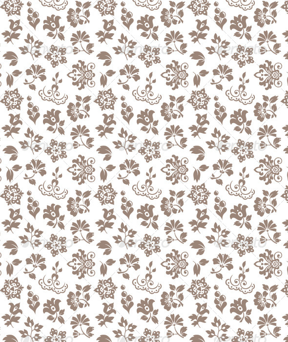 Floral Pattern - Patterns Backgrounds