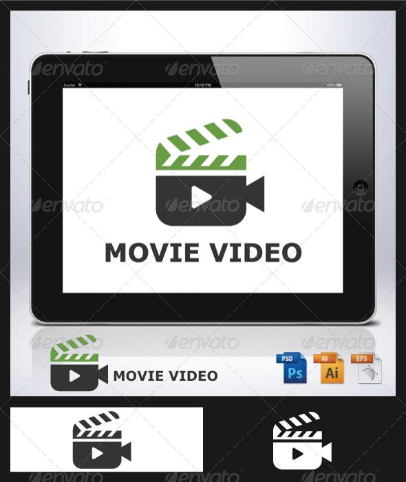 Movie Video Logo - Objects Logo Templates